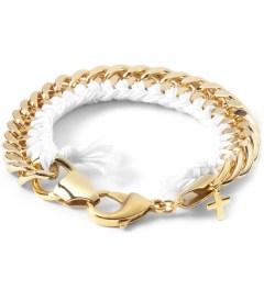 THE RHOD White Classic Woven Bracelet Picutre