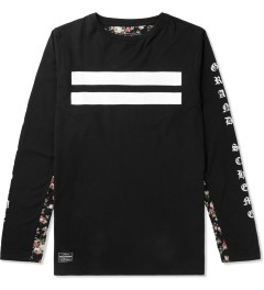 Grand Scheme Black Renegade L/S T-Shirt Picutre