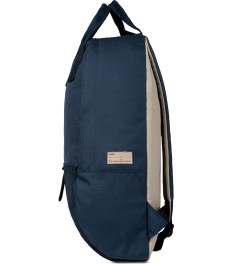Buddy Navy Ear Long Backpack Model Picutre