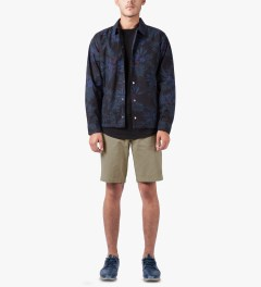 HUF Khaki Twill Walk Shorts Model Picutre