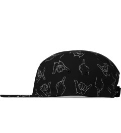 Primitive Black HLFU 5-Panel Cap Model Picutre