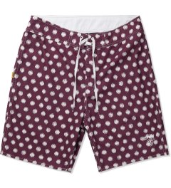 Stussy Red Scratch Dot 8.5 Trunk Picutre