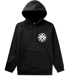 Stussy Black Checks Stock Pullover Hoodie Picutre