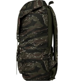 Herschel Supply Co. Tiger Camo/Army Rubber Little America Backpack Model Picutre