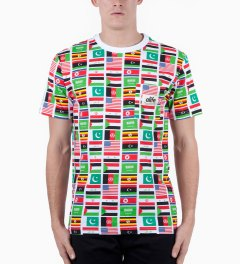 ALIFE Flag Print Allover Terror T-Shirt Model Picutre