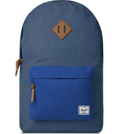 Herschel Supply Co. Cobalt Crosshatch Classics Heritage Backpack Picutre