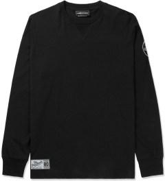 The Hundreds Black Court L/S T-Shirt Picutre
