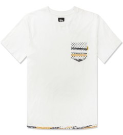 Stussy White Dot Tom Pocket T-Shirt Picutre