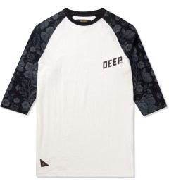 10.Deep Natural Slope ¾ Sleeve Baseball T-Shirt Picutre