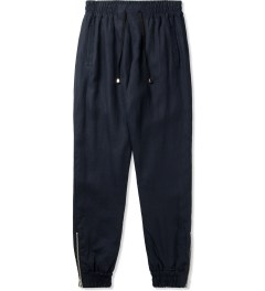 clothsurgeon Navy Linen Cuff Sweatpants Picutre