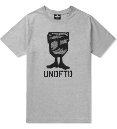 Undefeated Heather Grey Camo U-Man T-Shirt Picutre