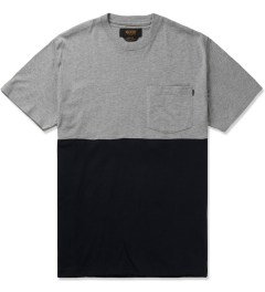 10.Deep Heather Grey Chaos Pocket T-Shirt Picutre