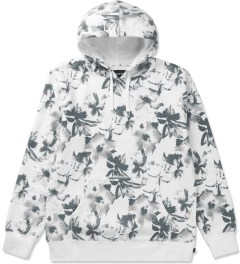 HUF White Floral Pullover Hoodie Picutre