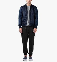 Publish Navy Rico Jacket Model Picutre