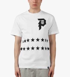 Primitive White Salute T-Shirt Model Picutre