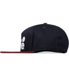 ALIFE Dark Navy Antique A Snapback Cap Model Picutre