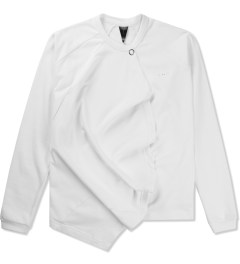Publish White Gunner Raglan Sleeve Jacket Picutre