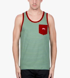 Stussy Mint Nicholas Tank Top Model Picutre