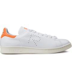 Raf Simons Raf Simons x Adidas Orange/White Stan Smith Sneakers Picutre