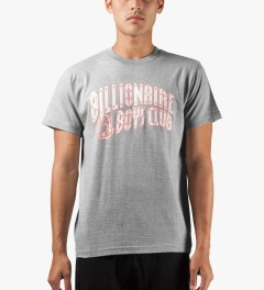 Billionaire Boys Club Grey SMRJ T-Shirt Model Picutre