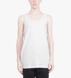 Stampd White Gods Tank Top Model Picutre