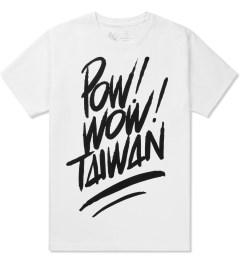 POW! WOW! Black on White 2014 POW! WOW! Taiwan T-Shirt Picutre