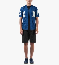 10.Deep Blue DXXP Baseball Jersey Model Picutre