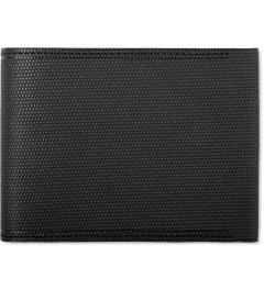 POSTALCO Black Small C.G Leather Billfold Wallet with Coin Pocket Picutre