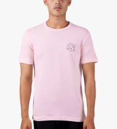 The Quiet Life Pink Premium Concert T-Shirt Model Picutre