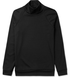 Kunz by Nicklas Kunz Black/Black Athletic Turtle Neck Shirt Picutre