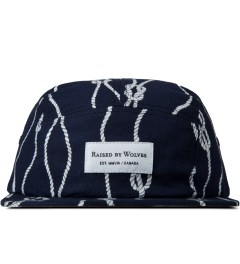 Raised by Wolves Navy Sailor's Knot Algonquin 5-Panel Cap Picutre