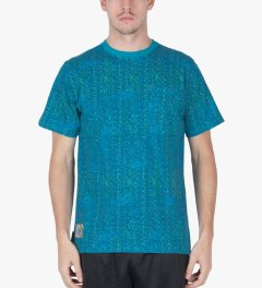 The Hundreds Bright Blue Focus Pocket T-Shirt Model Picutre