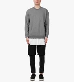 3.1 Phillip Lim Grey Melange Tail Pullover L/S Shirt Model Picutre