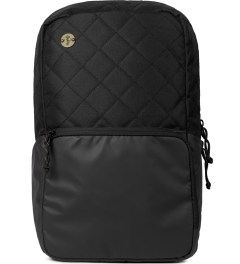 Focused Space Black The Curriculum Quilted 600D Backpack Picutre