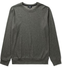 A.P.C. Black Basic Sweater Picutre