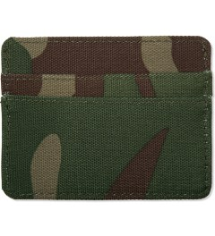 Herschel Supply Co. Woodland Camo Charlie Cardcase Model Picutre