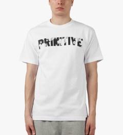 Primitive White Honor T-Shirt Model Picutre