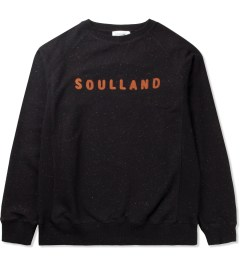 Soulland Black with Orange/Multicolor PF14 Capitals Sweat Sweater Picutre