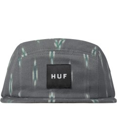 HUF Light Grey Ikat Volley 5-Panel Cap Picutre