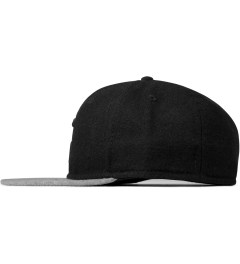 "SATURDAYS Surf NYC Black ""S"" Baseball Cap Model Picutre"