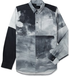 Tourne de Transmission White/Black Shatter Box Shirt Picutre