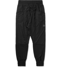 Thing Thing Black Ronin Trackie Mesh Pants Model Picutre