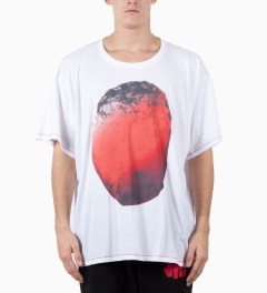 Henrik Vibskov Metro Print Smash Big T-Shirt Model Picutre