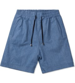 clothsurgeon Washed Denim Basketball Shorts Picutre