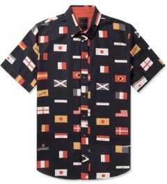 i love ugly. Black Big Flags S/S Shirt Picutre