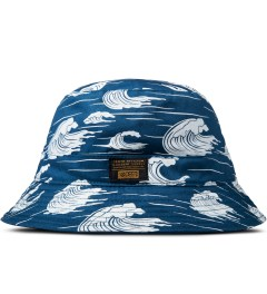 10.Deep Blue Thompson Fisherman Bucket Hat Picutre