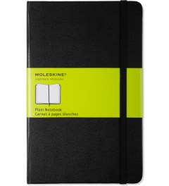 MOLESKINE Black Plain Large Notebook Picutre