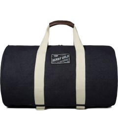 Benny Gold Indigo Denim Small Overnight Duffle Bag Picutre