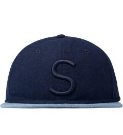 "SATURDAYS Surf NYC Blue ""S"" Baseball Cap Picutre"