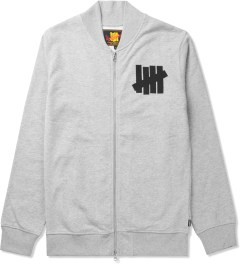 Undefeated Athletic Grey Revolution Varsity Jacket Picutre